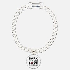 Bark If You Love Chiweenies Bracelet