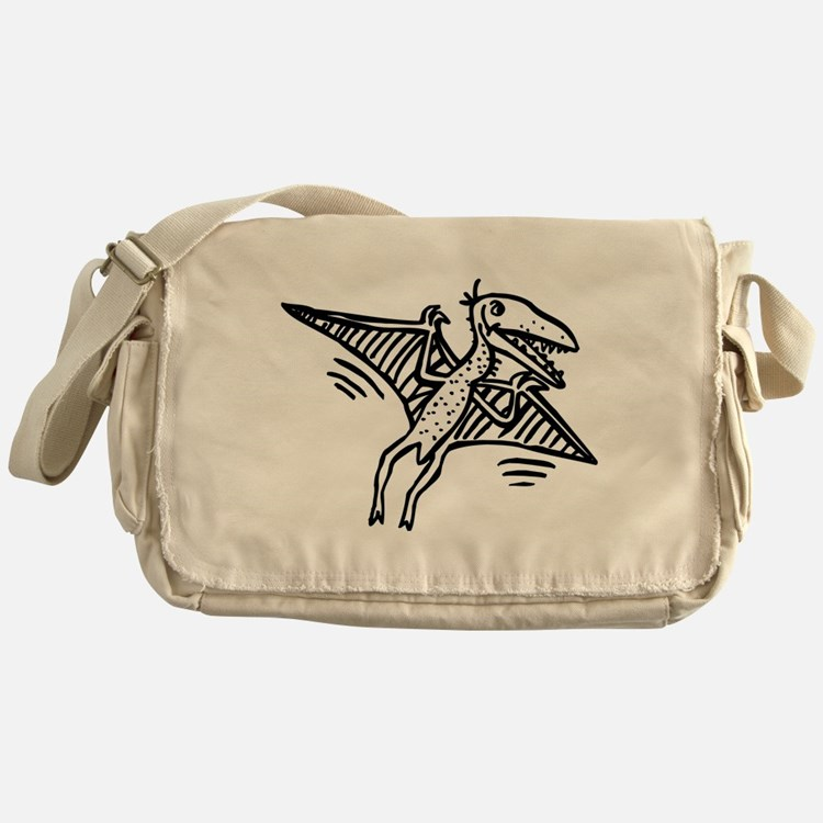 Pterodactyl Messenger Bag