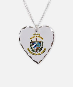 Cuba - Coat of Arms Necklace