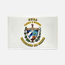 Cuba - Coat of Arms Rectangle Magnet