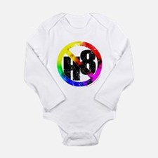 No Hate - < NO H8 >+ Long Sleeve Infant Bodysuit