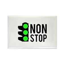 NON STOP Rectangle Magnet (10 pack)