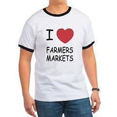 I heart farmers markets T