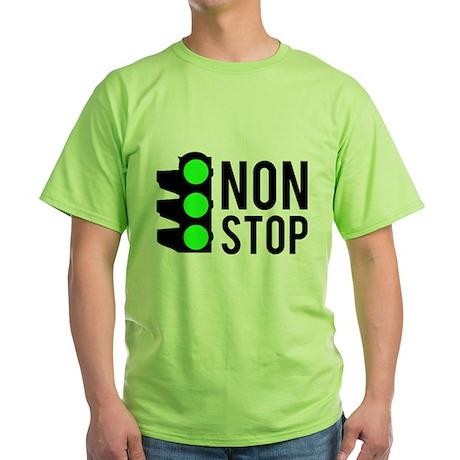 NON STOP Green T-Shirt
