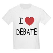 I heart debate T-Shirt