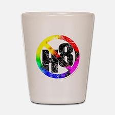 No Hate - < NO H8 >+ Shot Glass