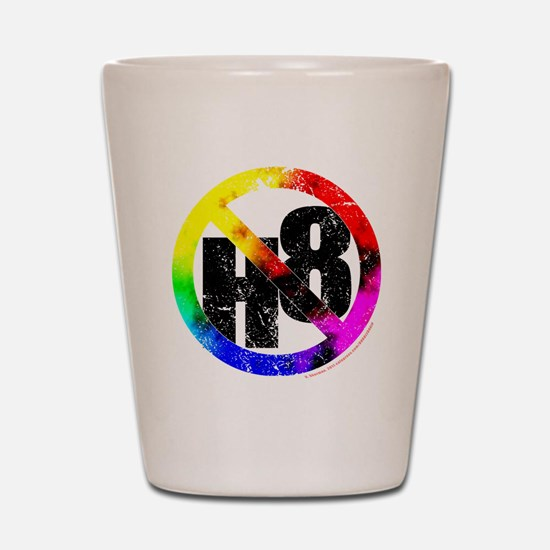 No Hate - < NO H8 >+ Shot Glass
