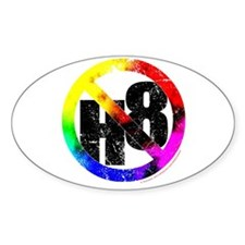 No Hate - < NO H8 >+ Decal