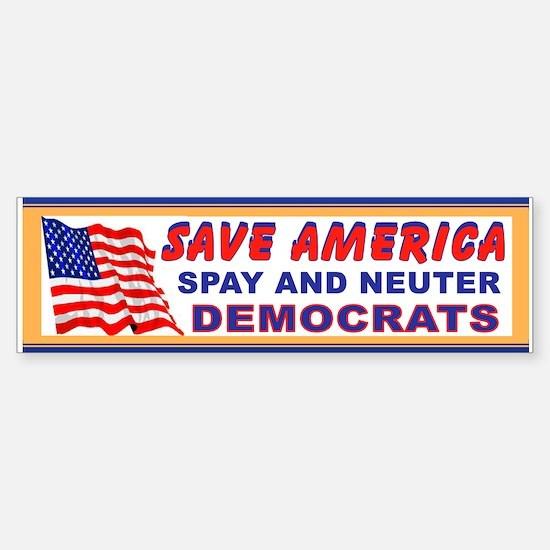 Cute Senate Sticker (Bumper)