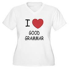 I heart good grammar T-Shirt
