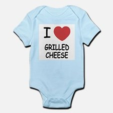 I heart grilled cheese Infant Bodysuit