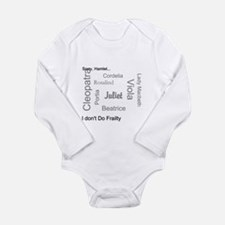 Sorry, Hamlet Long Sleeve Infant Bodysuit