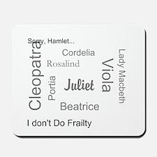 Sorry, Hamlet Mousepad