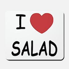 I heart salad Mousepad
