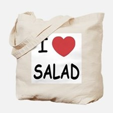 I heart salad Tote Bag