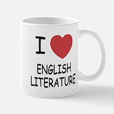 I heart english literature Mug