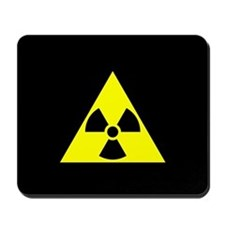 Radioactivity Sign Mousepad