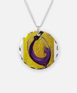 Unique Food and wine Necklace