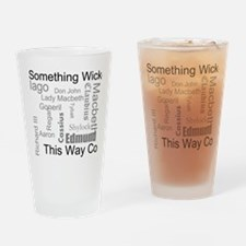 Cool King Drinking Glass