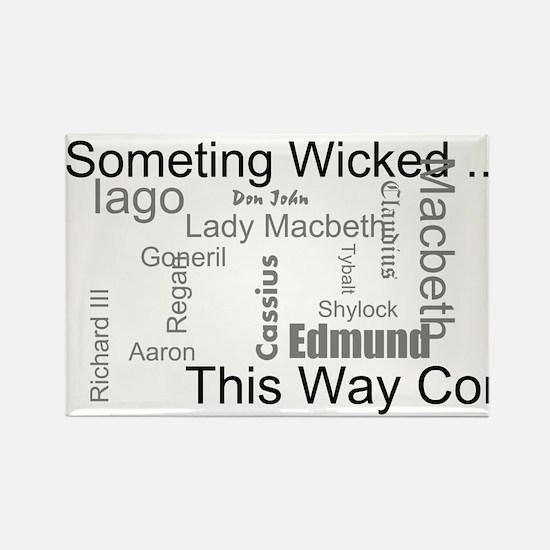 Funny Shakespeare macbeth Rectangle Magnet