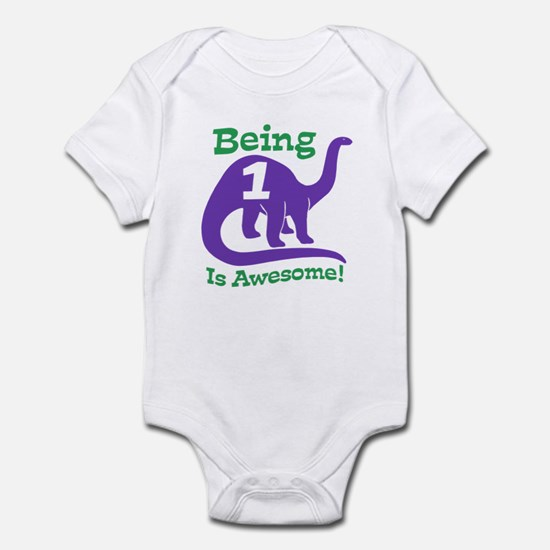 Cute 1st Birthday Infant Bodysuit