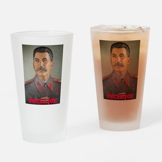 Uncle Joe Drinking Glass