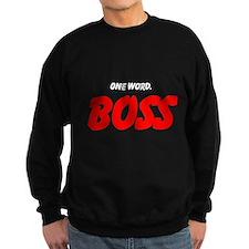 Cool One word Sweatshirt