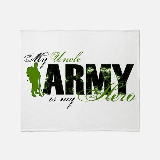 Uncle Hero3 - ARMY Throw Blanket