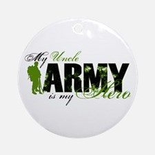 Uncle Hero3 - ARMY Ornament (Round)