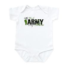 Uncle Hero3 - ARMY Infant Bodysuit