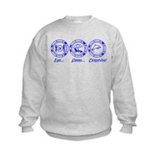 Eat Sleep Dolphins! Sweatshirt