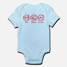 Eat Sleep Cruise Infant Bodysuit