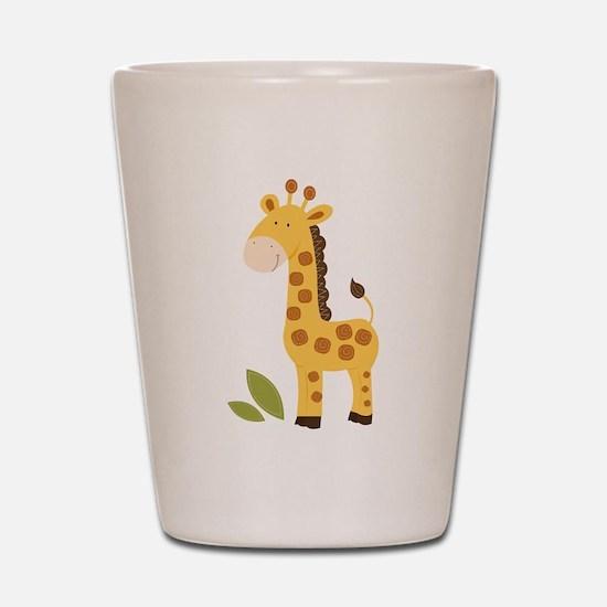 Cute Giraffe Shot Glass