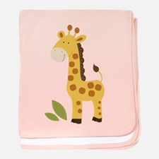 Cute Giraffe baby blanket
