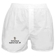 Hike Shenandoa (Boy) Boxer Shorts