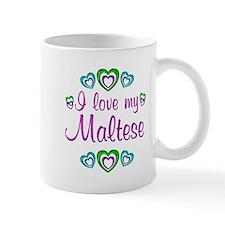 Love My Maltese Small Mugs