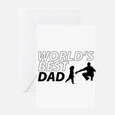 World's Best Dad Awesome Father Day Greeting Cards