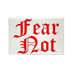 FEAR NOT™ Rectangle Magnet (10 pack)