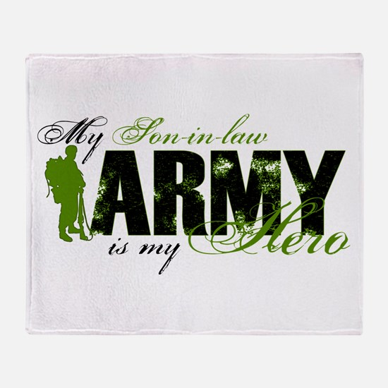 Son-in-law Hero3 - ARMY Throw Blanket