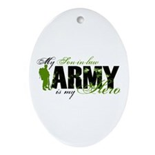 Son-in-law Hero3 - ARMY Ornament (Oval)