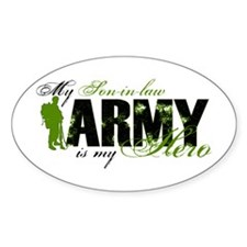 Son-in-law Hero3 - ARMY Decal