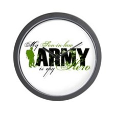 Son-in-law Hero3 - ARMY Wall Clock