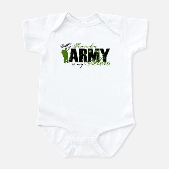 Son-in-law Hero3 - ARMY Infant Bodysuit
