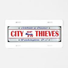 Funny Thief Aluminum License Plate