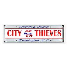 Cute Election thief Bumper Sticker