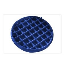 Blue Waffle Postcards (Package of 8)