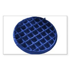 Blue Waffle Decal