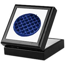 Blue Waffle Keepsake Box