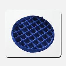 Blue Waffle Mousepad
