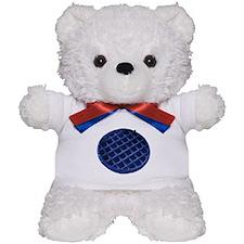 Blue Waffle Teddy Bear